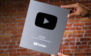 100,000+ Subscribers! YouTube Silver Creator Award Unboxing