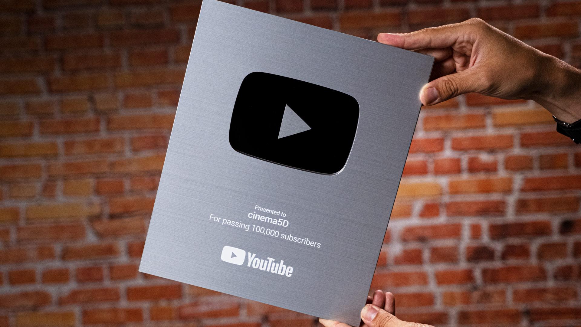 ¡Más de 100.000 suscriptores! Unboxing del Premio YouTube Silver Creator