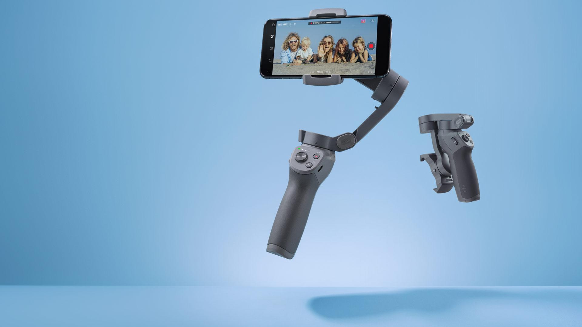 Anuncian el DJI Osmo Mobile 3 – Diseño plegable y cambio rápido entre retrato y paisaje