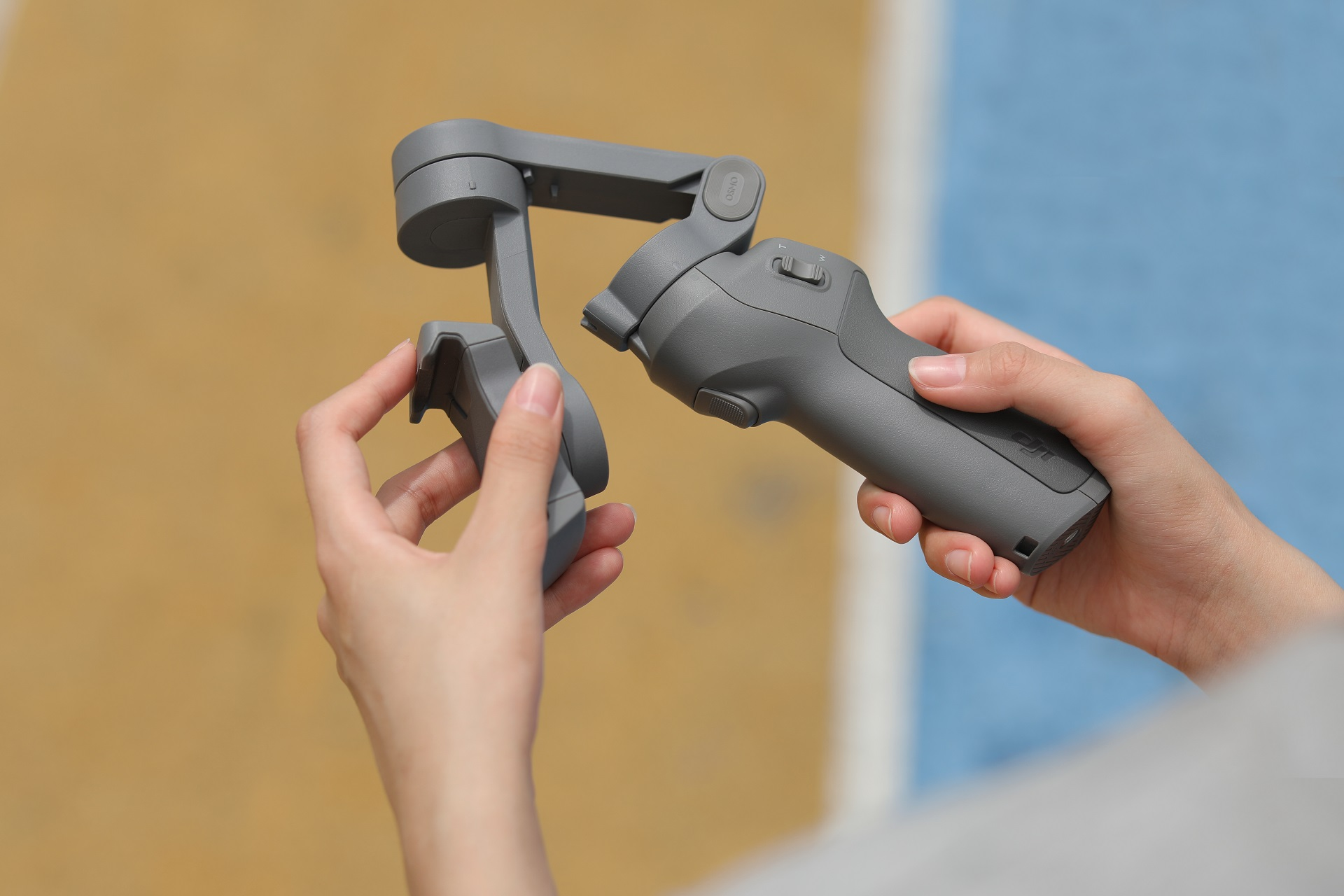 DJI's New Osmo 3 Gimbal Is Foldable & Perfect for Travel
