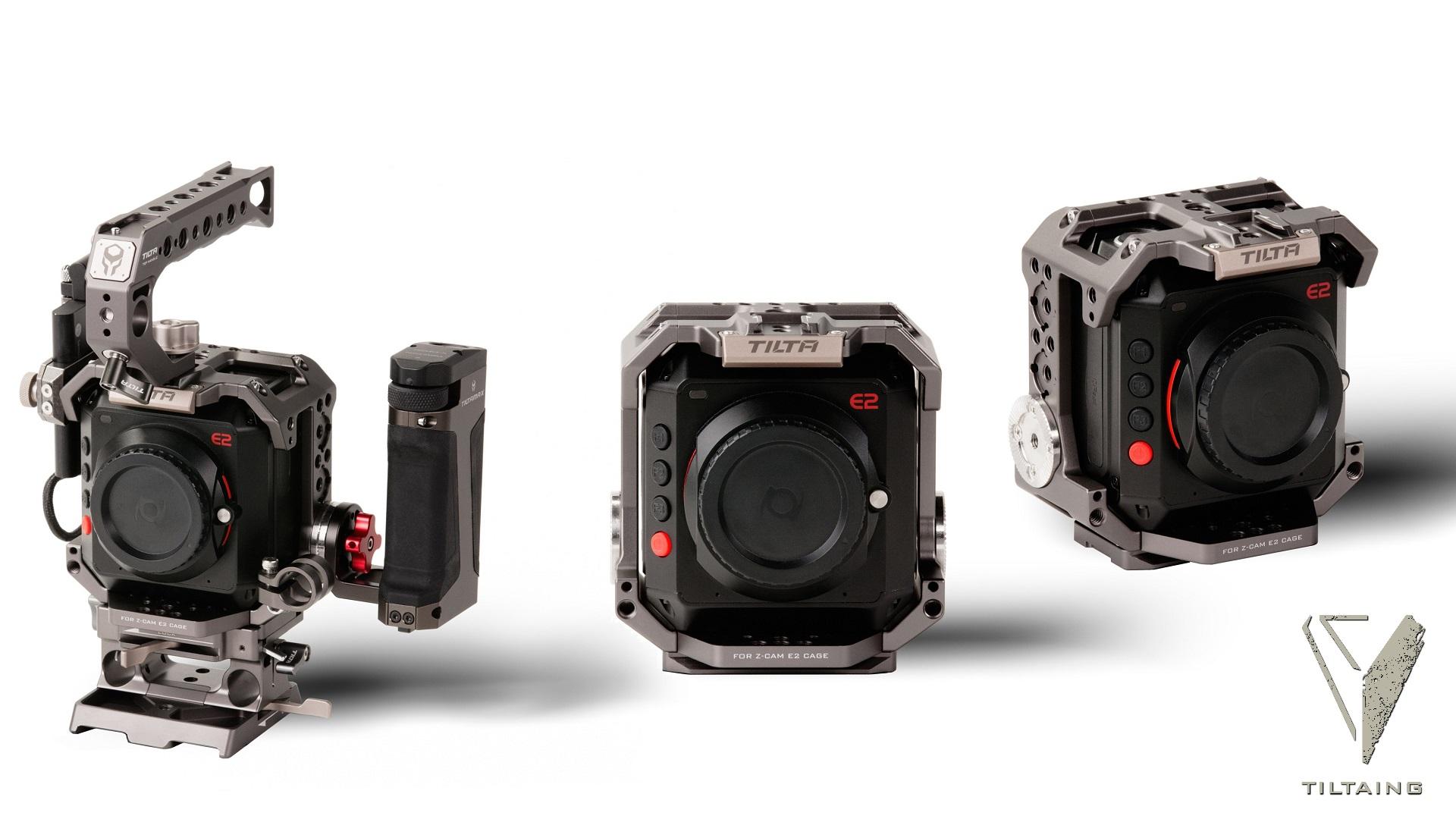 Tilta presenta armazón de cámara para Z CAM E2
