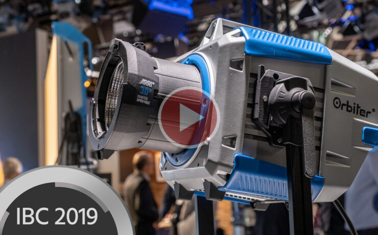 ARRI Orbiter - Quick Look at the New High Output Directional LED Fixture
