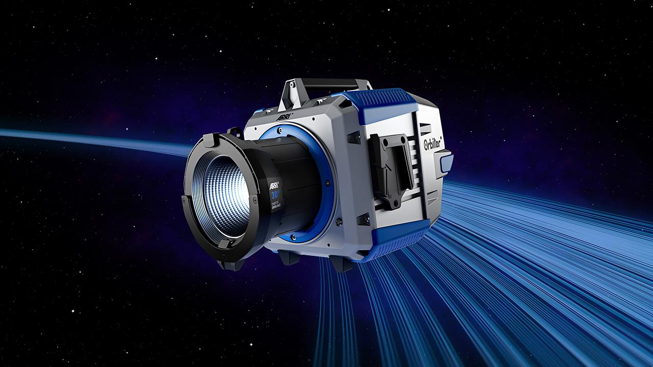 ARRIがOrbiter 指向性高出力LEDライトを発表