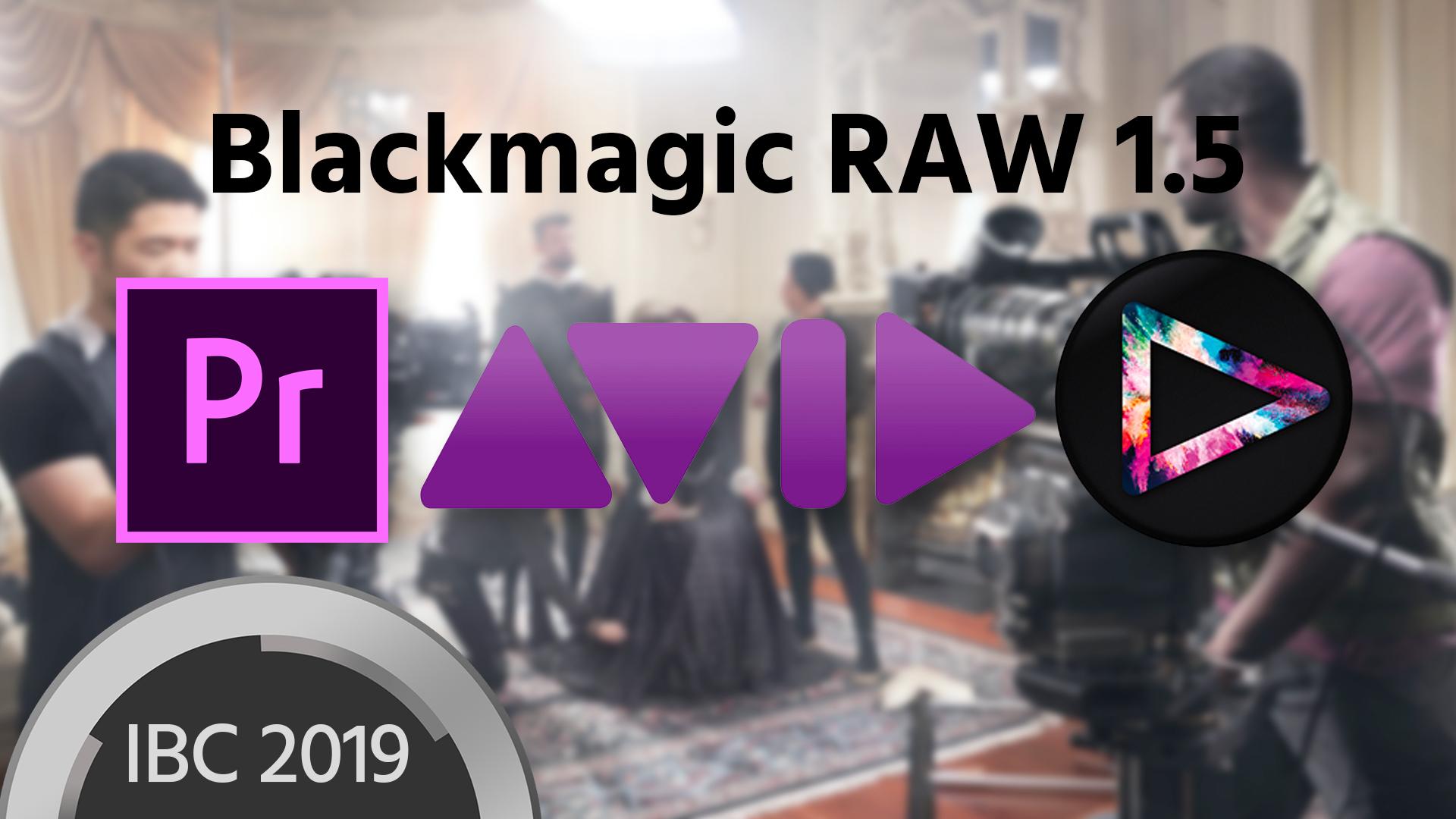 Blackmagic RAW ahora en Premiere Pro CC, Avid Media Composer y Edius