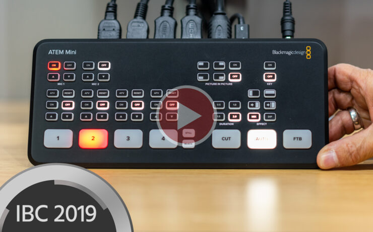 New Blackmagic ATEM Mini Switcher For HD Streaming and Vlogging