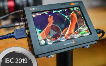 Blackmagic Video Assist 12G Monitors Enable RAW Recording