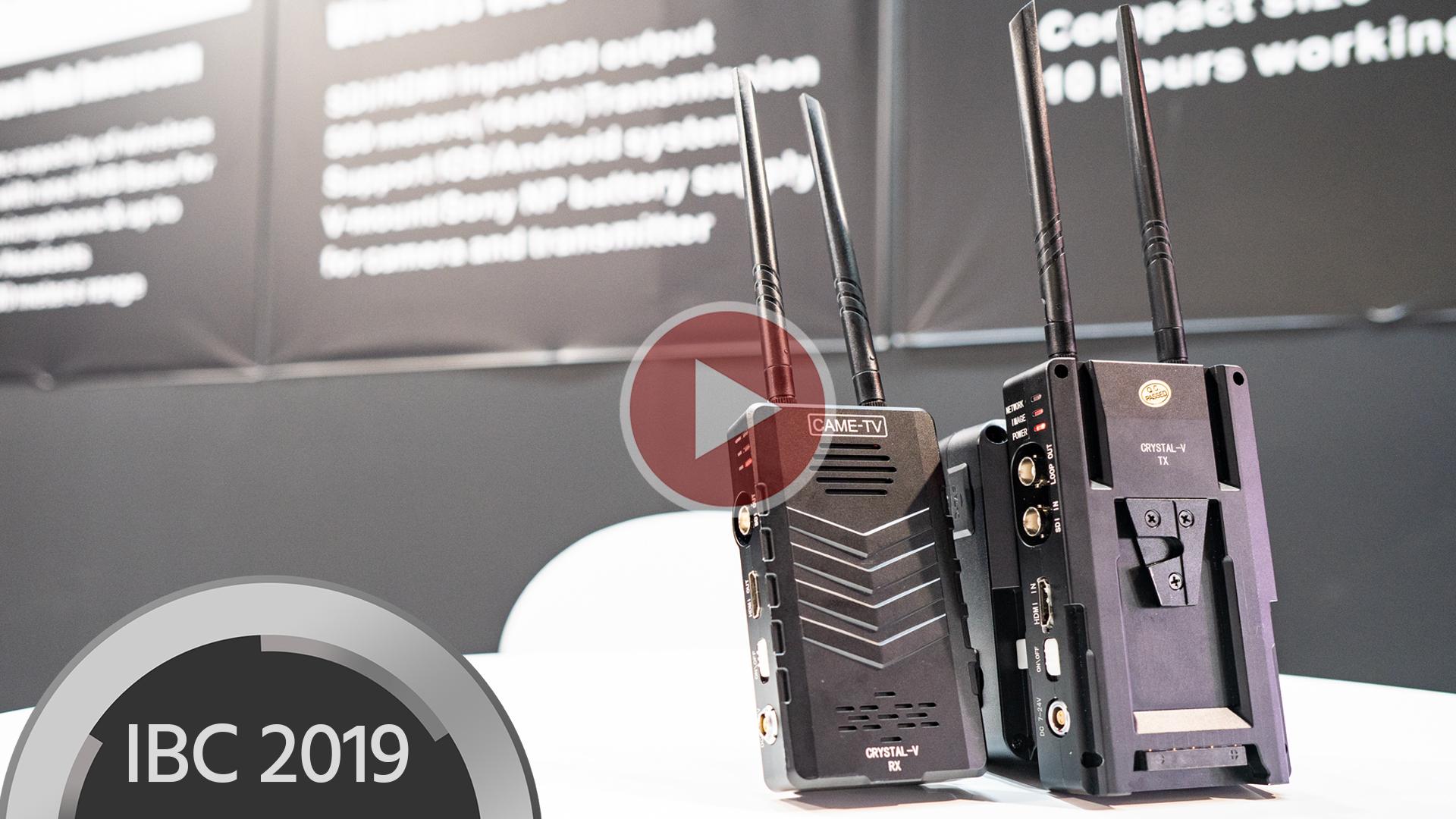 CAME-TV Crystal V – Transmisor de video inalámbrico SDI y HDMI hasta 500 m de distancia