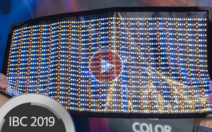 Cineroid CFL800 RGBWW Flexible LED Lights Introduced