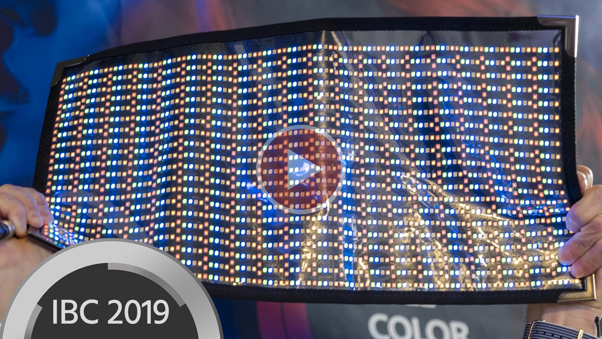 Presentan las luces LED flexibles Cineroid CFL800 RGBWW