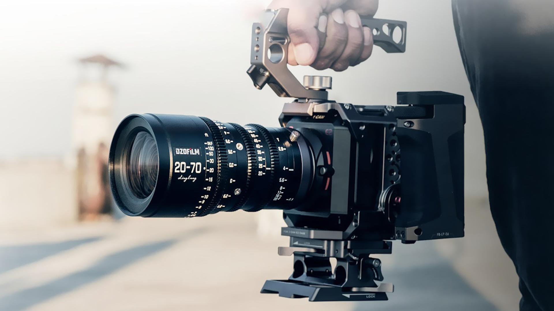 DZOFILM Linglung - Lente de cine 20-70 mm T2.9 actualizado y nuevo lente Micro 4/3 10-24 mm T2.9