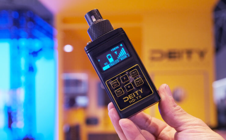 Deity HD-TX Combines Audio Recording and Transmission In One Device