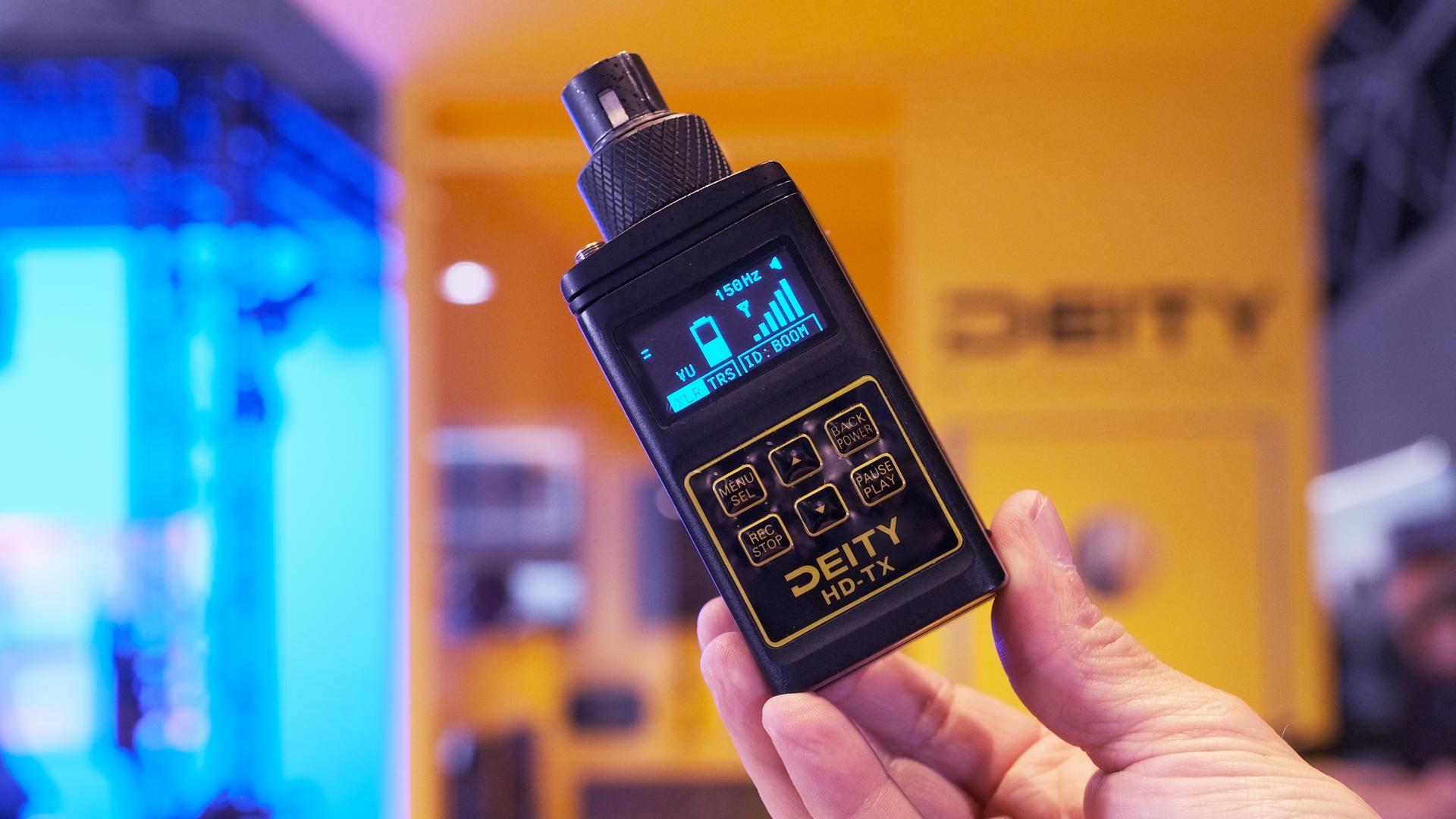 El Deity HD-TX combina grabación y transmisión de audio en un solo dispositivo
