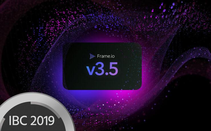 Frame.io V3.5 Update