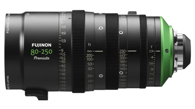 Fujifilm FUJINON Premista 80-250mm T2.95 - 3.5 PL - Side View