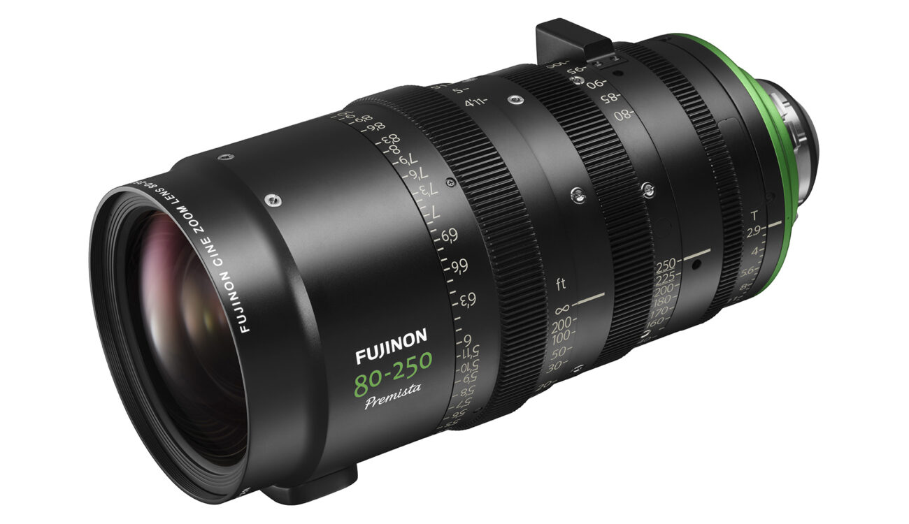 FUJINON Premista 80-250mm T2.9-3.5 Telephoto Zoom Lens - Shipping Soon