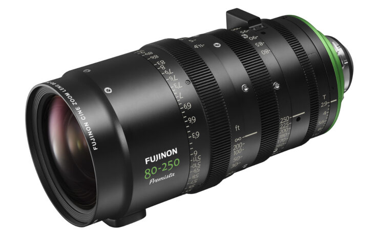 FUJINON Premista 80-250mm T2.9-3.5 Telephoto Zoom Lens - Shipping Soon