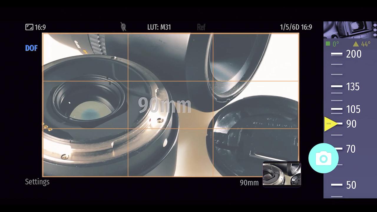 Magic Cinema ViewFinder - スマートフォン使用の無料ロケハンアプリ