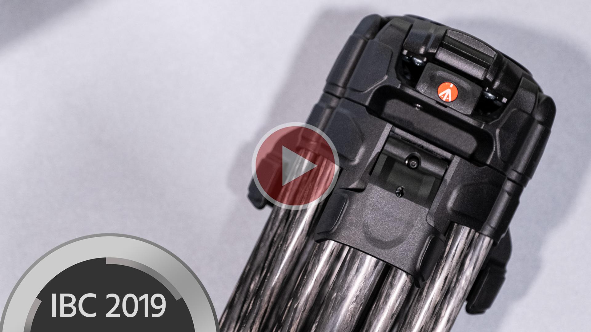 Trípode de doble pata Manfrotto 645 FTT de fibra de carbono con patas de despliegue rápido