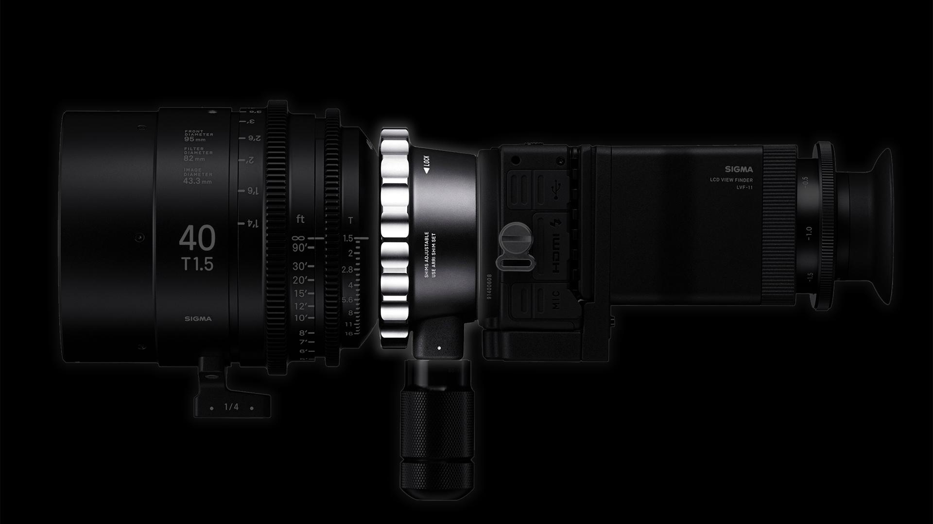 シグマ PL-Lマウントコンバーター - LマウントカメラでPLレンズを使用可能