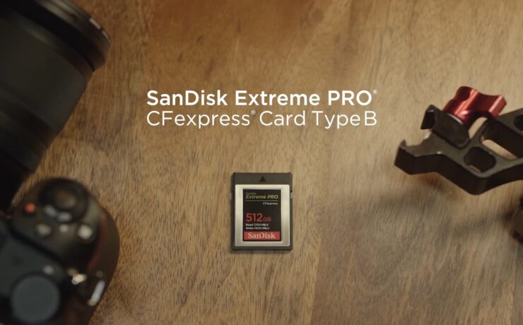 SanDisk CFexpress - Ultra Fast Cards now Available for Pre-order