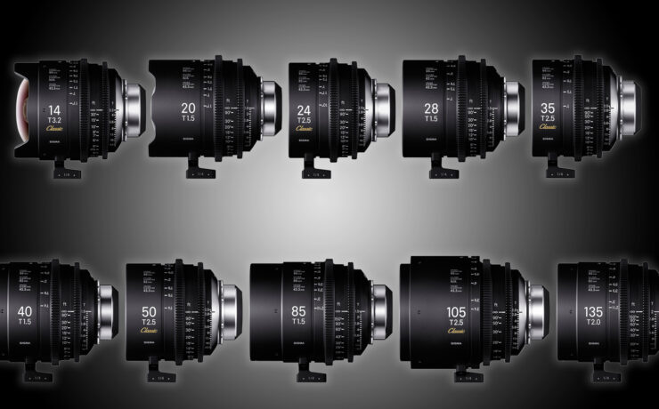 New SIGMA Cine Primes – Whole New Classic Primes and T1.5 PL Versions with Cooke /i