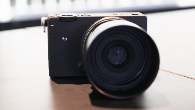 SIGMA fp Update – Cinema DNG RAW Internal Recording and More