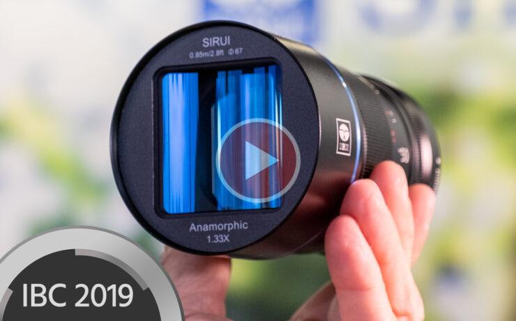 SIRUI 50mm f/1.8 1.33x Lens Announced - Affordable APS-C Anamorphic Lens