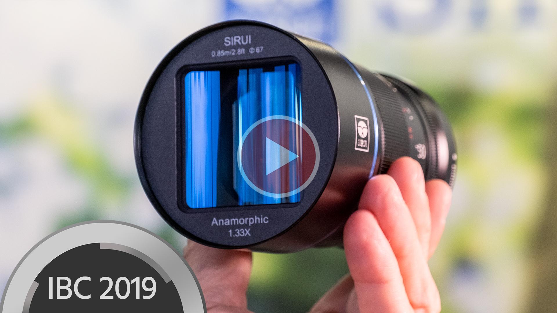Anuncian lente SIRUI 50mm f/1.8 1.33x - Lente anamórfico APS-C asequible