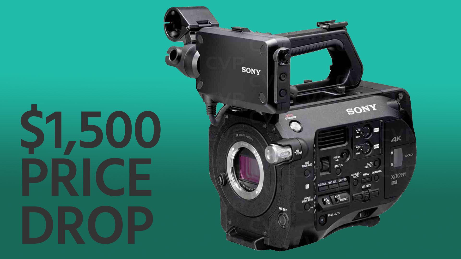 Cae el precio de la Sony FS7 - Cuerpo de cámara disponible por $ 5.998