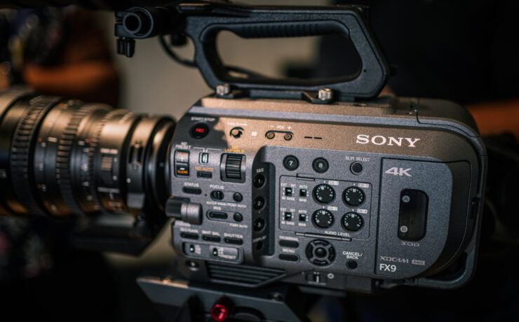Sony FX9 Firmware 2.0 Update Released a Month Earlier Than Expected