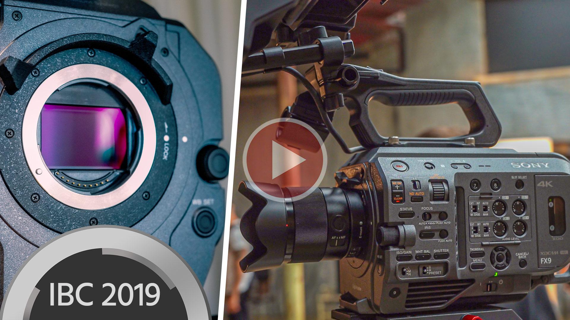 Practicamos y filmamos con la Sony FX9 - EN EXCLUSIVO