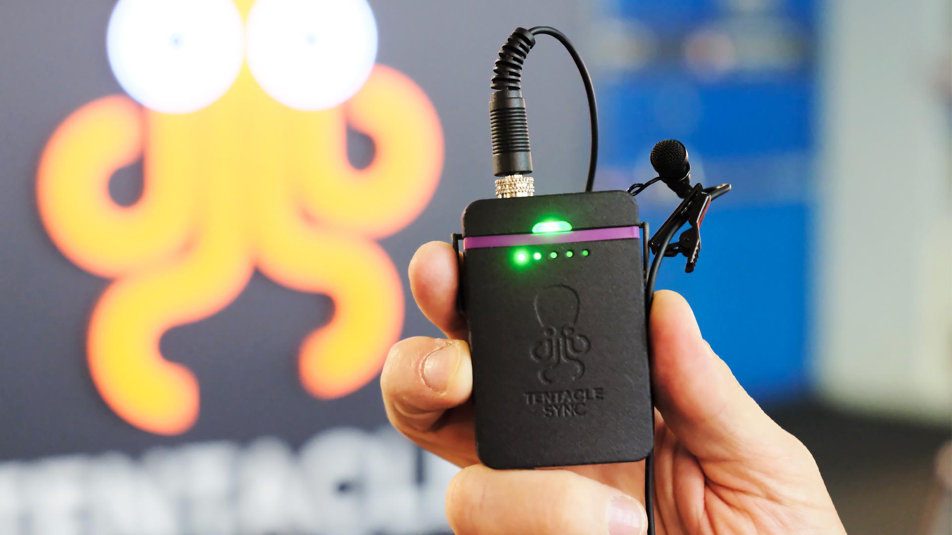 Anuncian el Track E de Tentacle Sync - grabadora de audio sincronizado de bolsillo