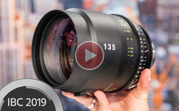 Tokina 135mm T1.5 Vista Prime Lens Announced