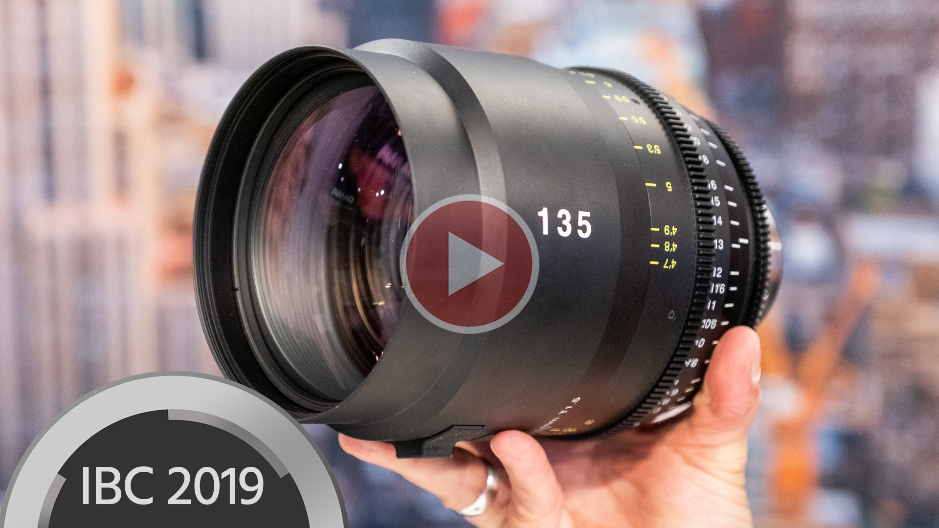 Anuncian lente Tokina 135mm T1.5 Vista Prime