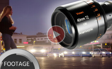 VAZEN Anamorphic 1.8x 40mm T2 for MFT - Sample Footage & Review