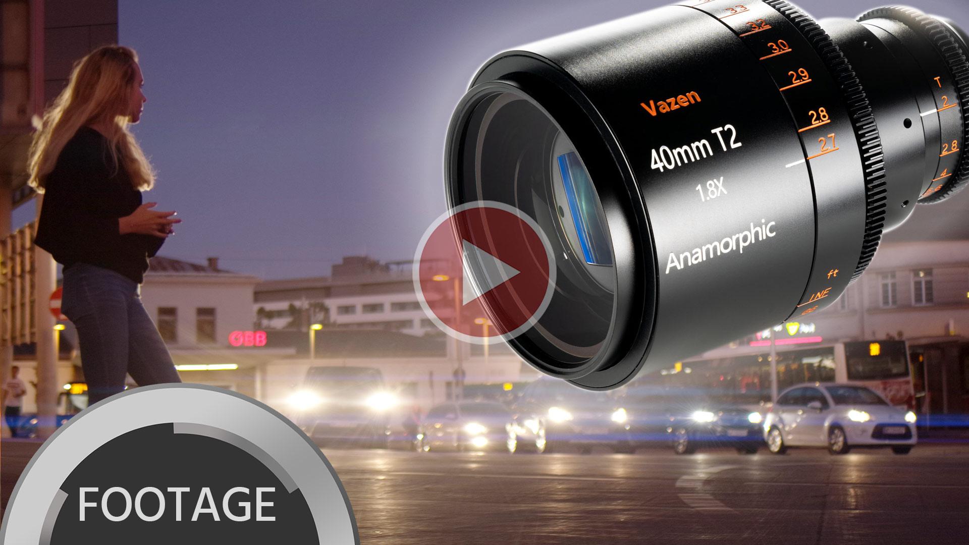 VAZEN Anamórfico 1.8x 40mm T2 para M 4/3 - Imágenes de muestra y reseña