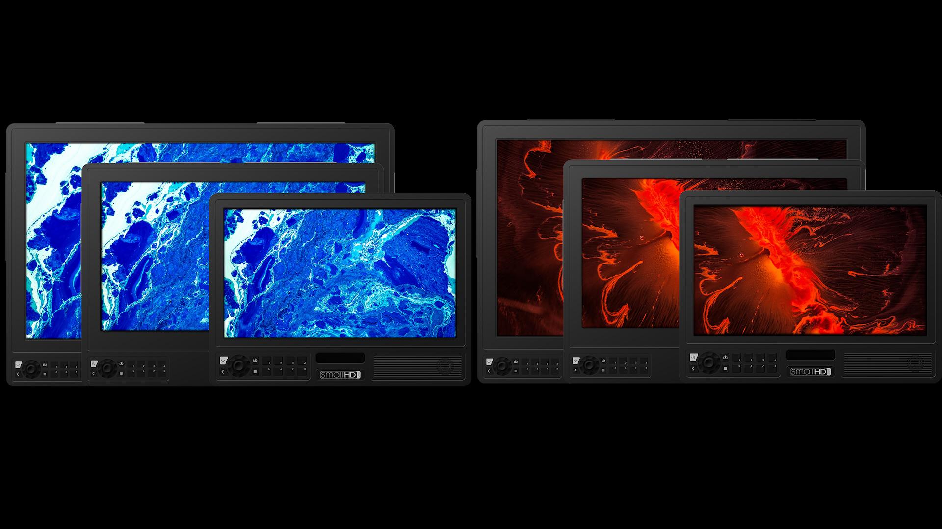Lanzamiento de monitores HDR de referencia SmallHD 4K - Series Small4K Vision y Cine