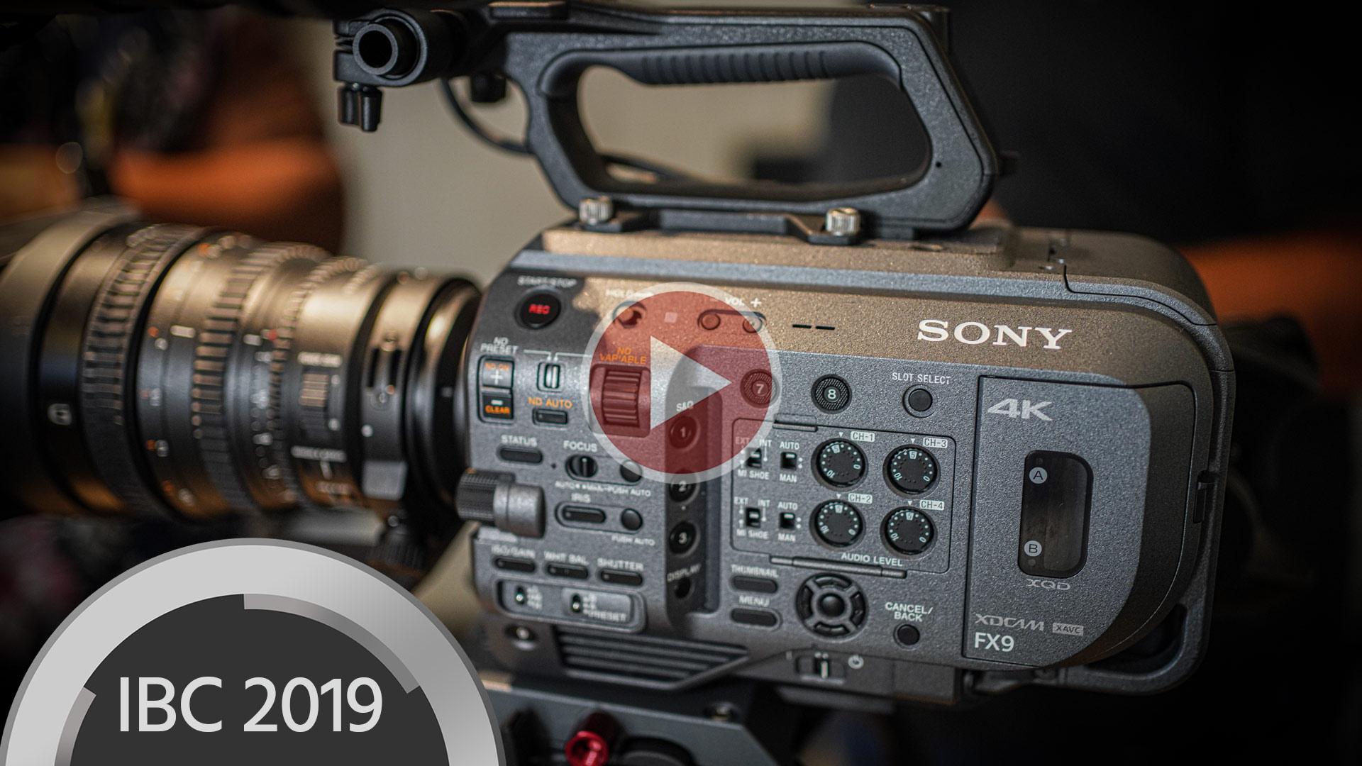 Anuncian la Sony FX9 - full frame, enfoque automático híbrido rápido, cámara con ISO Dual