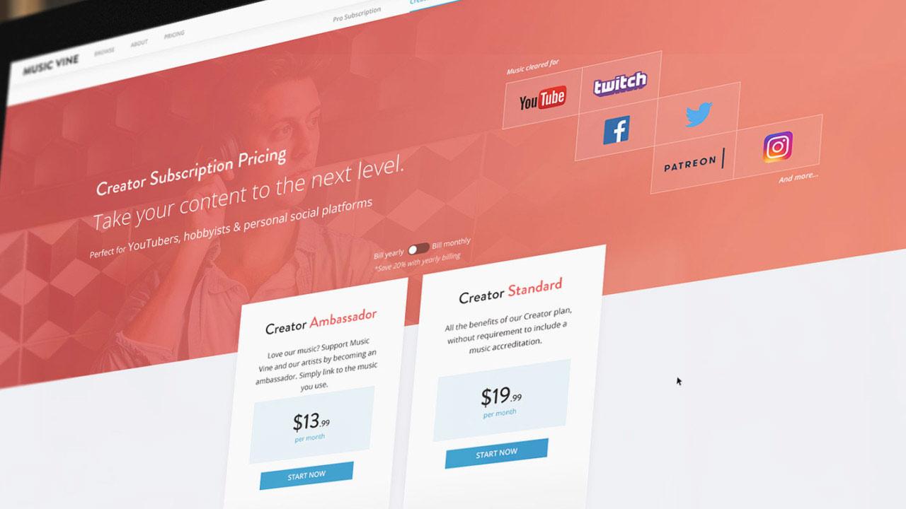 Music Vine lanza planes de suscripción para profesionales y creadores
