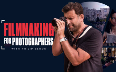 Filmmaking for Photographers Course with Philip Bloom now on MZed