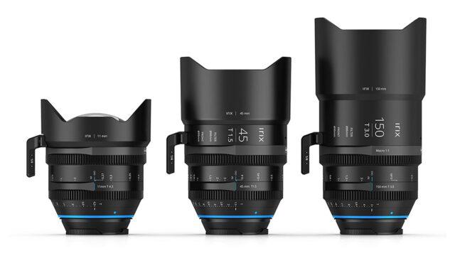 Irix Cine Prime Lens Range - 11, 45 & 150mm