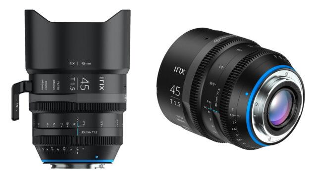 Irix 45mm T1.5 - Cine Prime Lens
