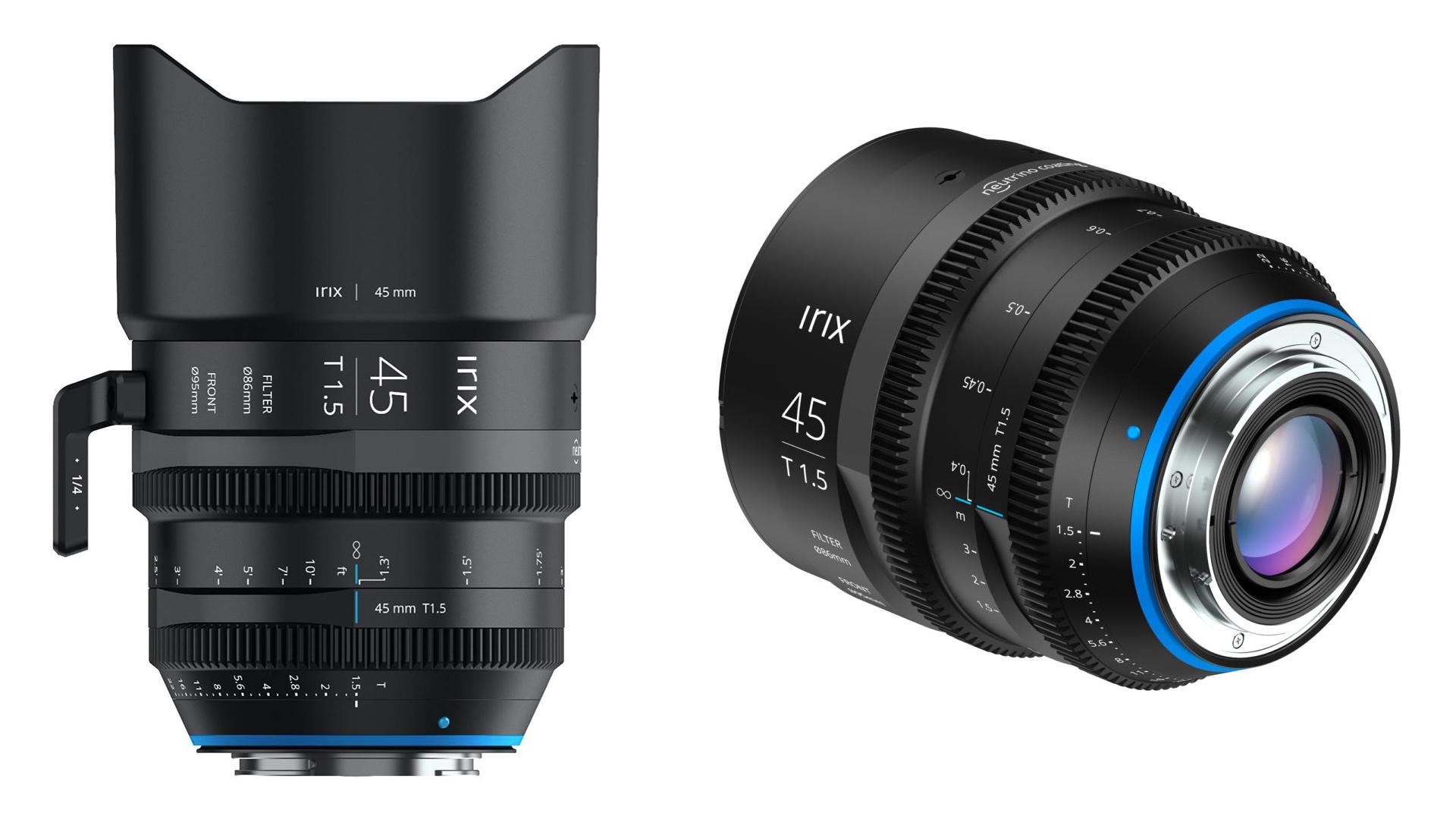 Irix 45mm T1.5 - anuncian lente prime rápido de cine