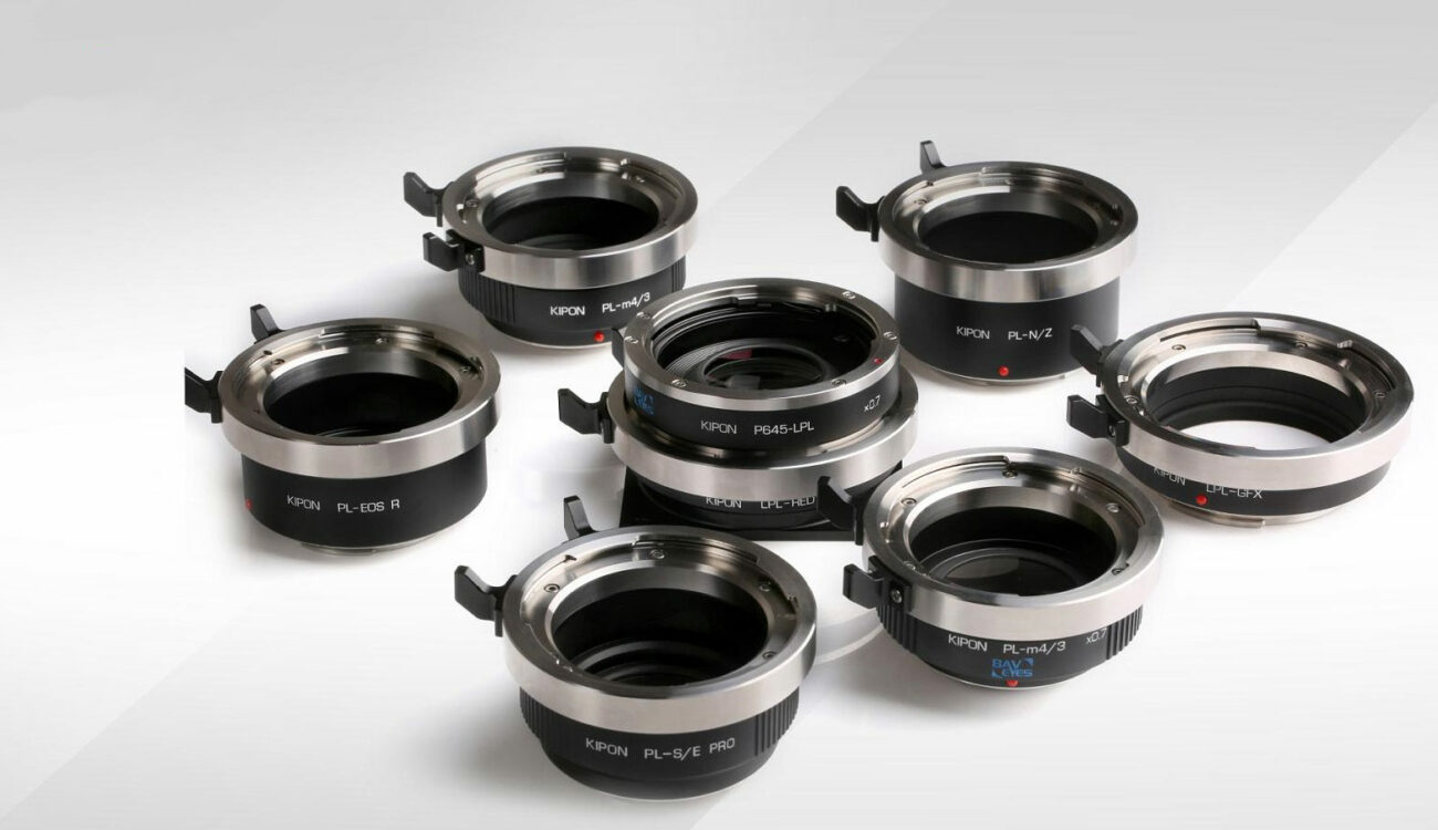 KIPON Releases PRO Cine Adapters for PL and LPL Mount Lenses and Medium Format Lenses