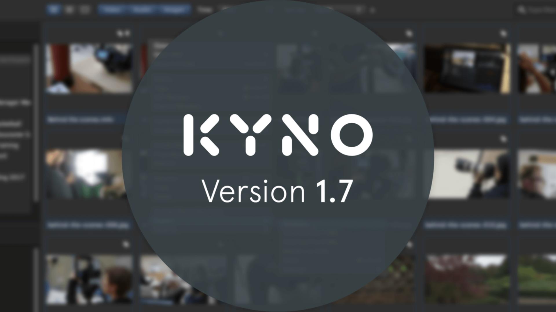 Lanzan el Kyno 1.7 - exportación de ProRes en Windows y manejo extendido de metadatos