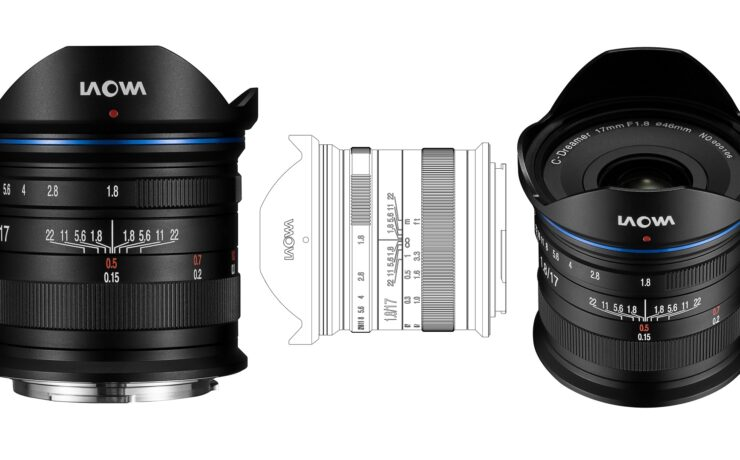 Laowa 17mm f/1.8 MFT Lens - Very Affordable New Manual Prime