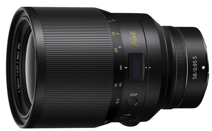 Nikon Releases NIKKOR Z 58mm f/0.95 S Noct Lens - World's Fastest Z-Mount Lens