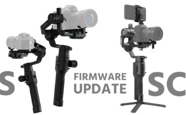DJI Ronin-S and Ronin-SC Firmware Updates - ActiveTrack 3.0 and Force Mobile now Available on Ronin-S