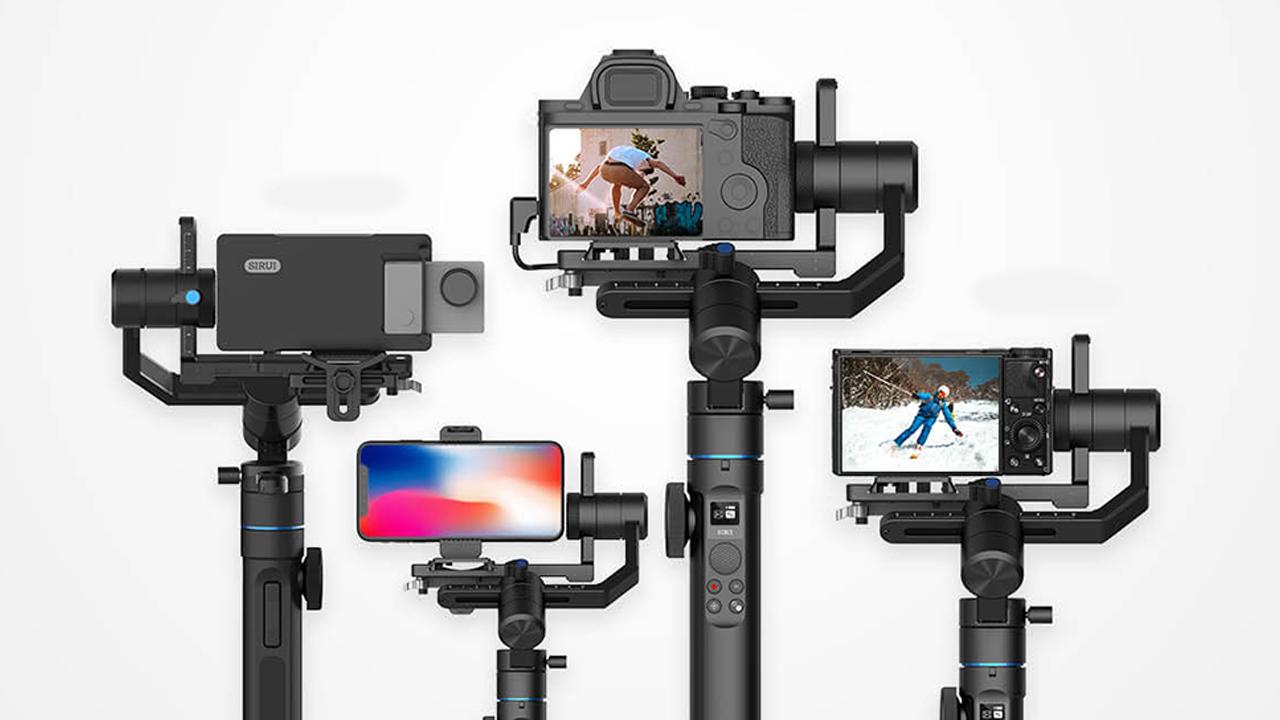 Sirui Swift M1 y Swift P1: Gimbals para smartphones y cámaras mirrorless