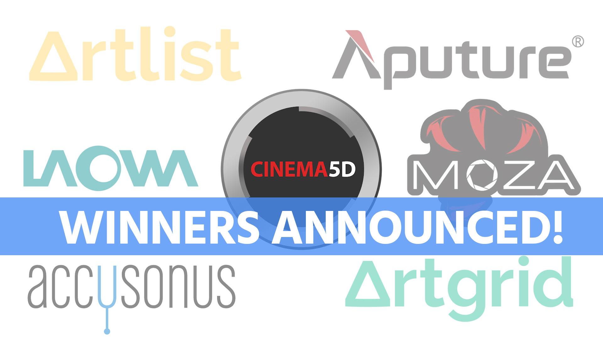 ¡Anunciamos los ganadores del sorteo de la encuesta de Cinema5D!